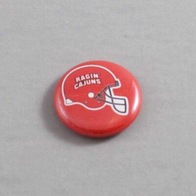 NCAA Louisiana Lafayette Ragin' Cajuns Button 01