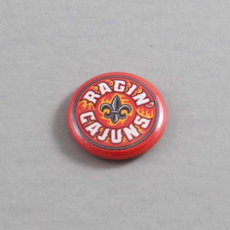 NCAA Louisiana Lafayette Ragin' Cajuns Button 02