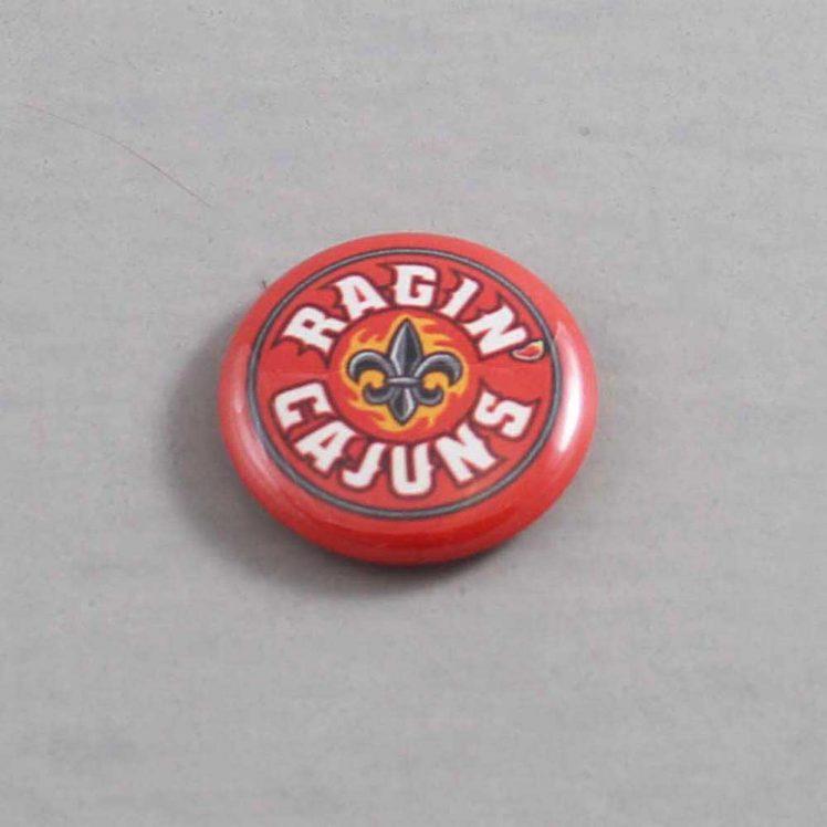 NCAA Louisiana Lafayette Ragin' Cajuns Button 03