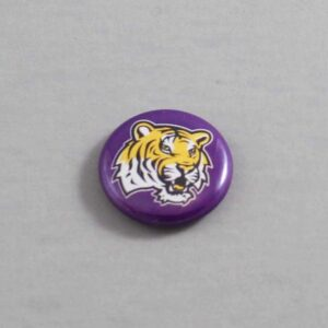 NCAA Louisiana State Tigers Button 01