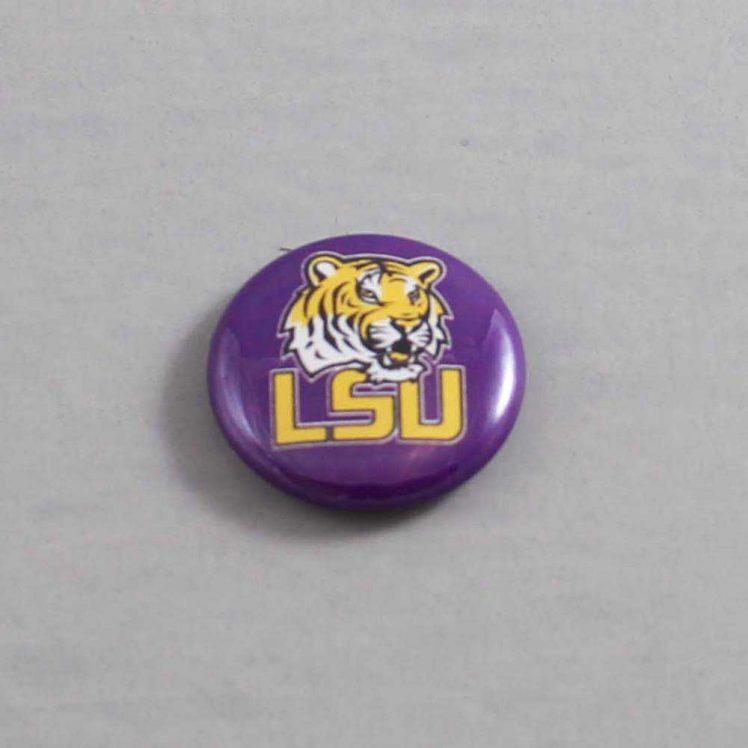 NCAA Louisiana State Tigers Button 02