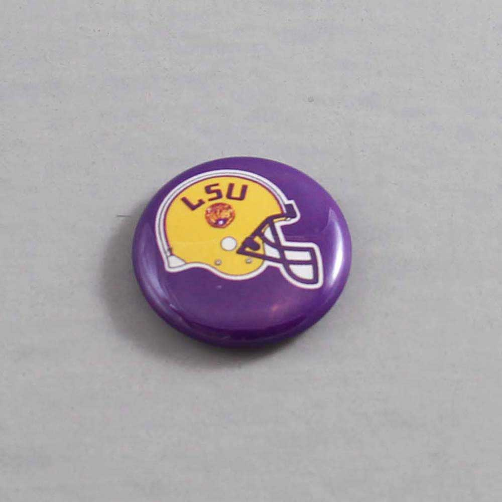 NCAA Louisiana State Tigers Button 04