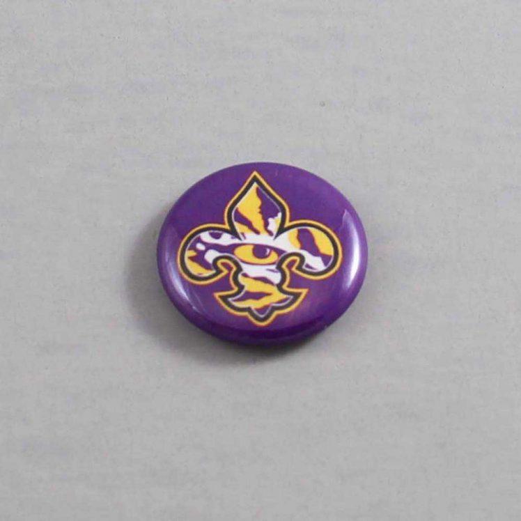 NCAA Louisiana State Tigers Button 06