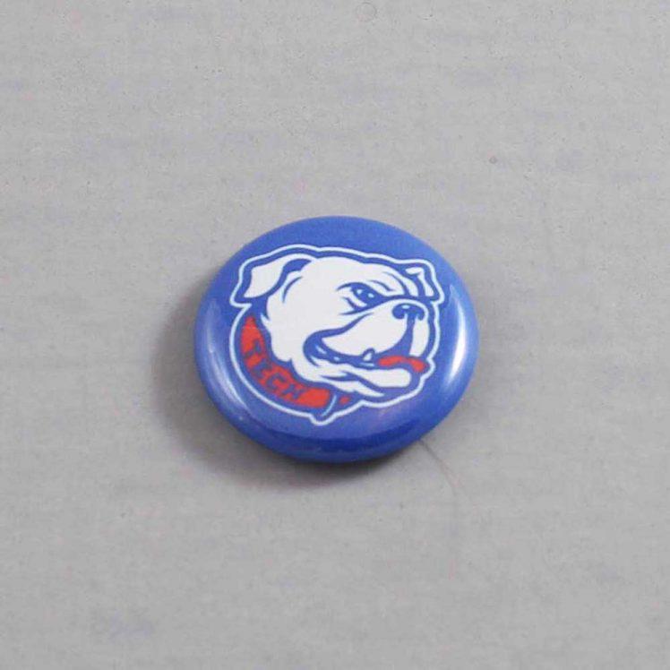 NCAA Louisiana Tech Bulldogs Button 03