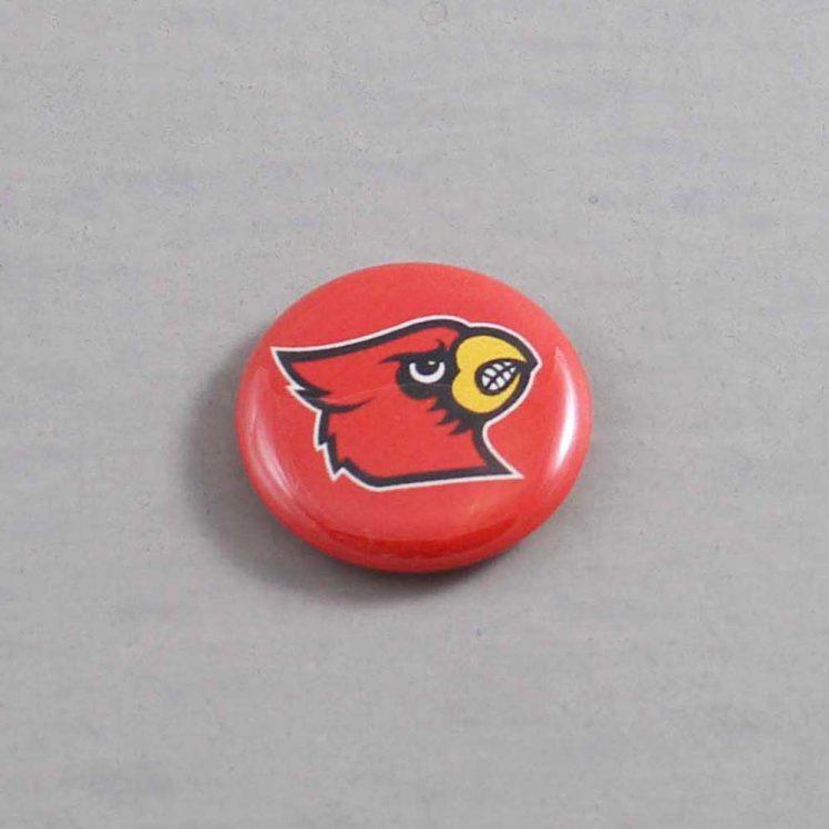 NCAA Louisville Cardinals Button 01
