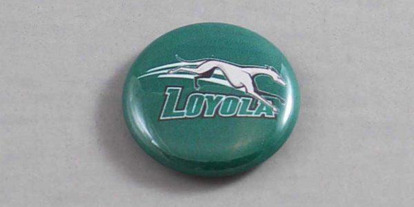 NCAA Loyola Greyhounds Button 01