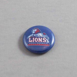 NCAA Loyola Marymount Lions Button 02