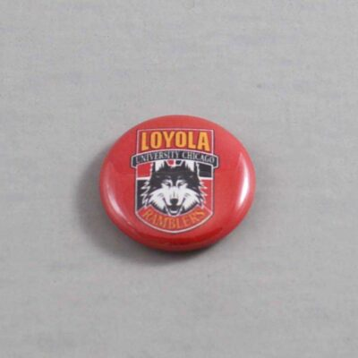 NCAA Loyola Ramblers Button 01
