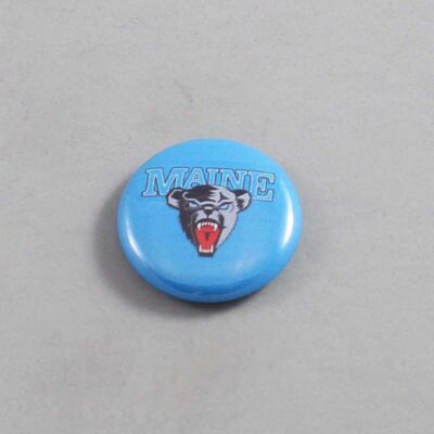 NCAA Maine Black Bears Button 01