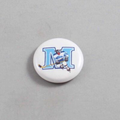 NCAA Maine Black Bears Button 02