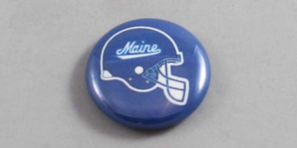 NCAA Maine Black Bears Button 05