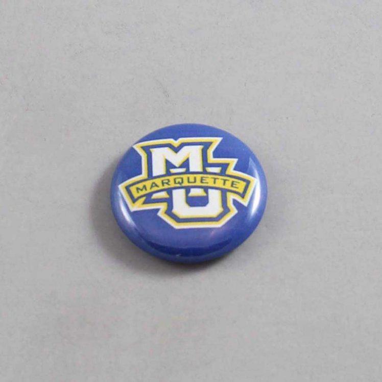 NCAA Marquette Golden Eagles Button 01
