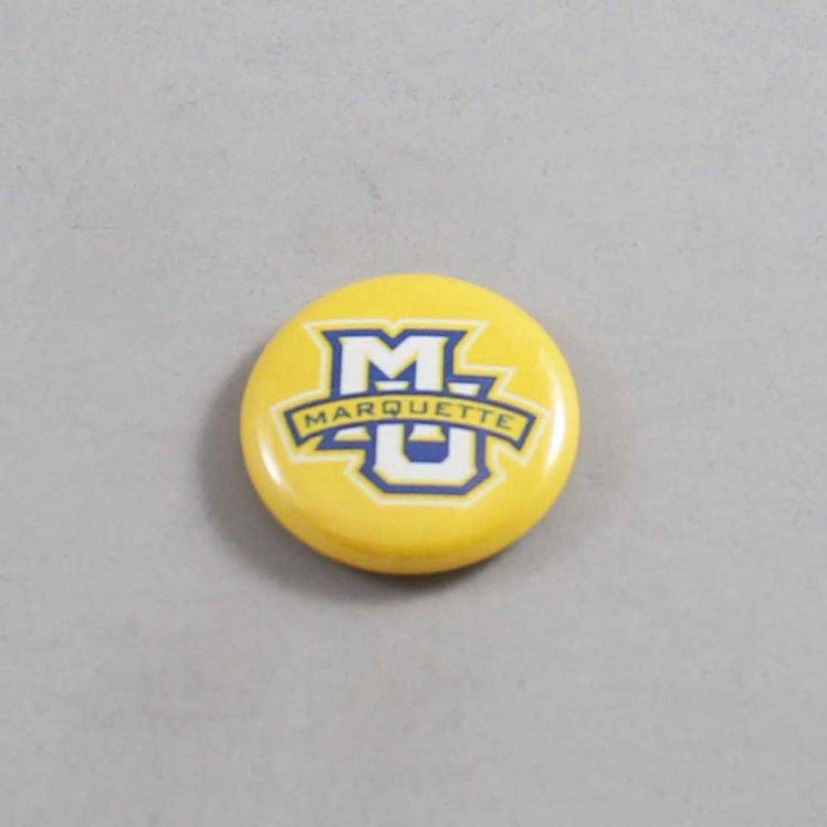 NCAA Marquette Golden Eagles Button 04