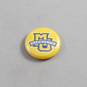 NCAA Marquette Golden Eagles Button 05