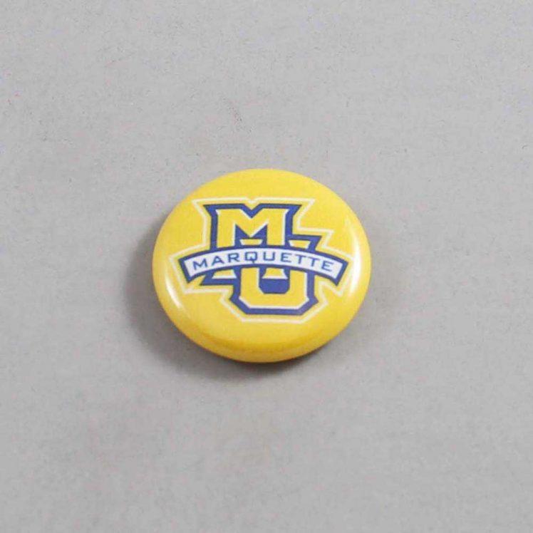 NCAA Marquette Golden Eagles Button 05