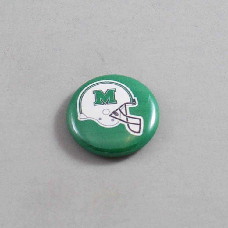 NCAA Marshall Thundering Herd Button 02