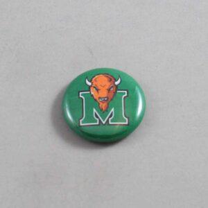 NCAA Marshall Thundering Herd Button 03