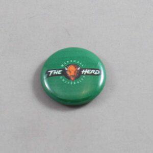 NCAA Marshall Thundering Herd Button 04