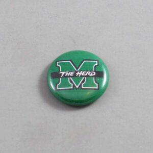 NCAA Marshall Thundering Herd Button 10