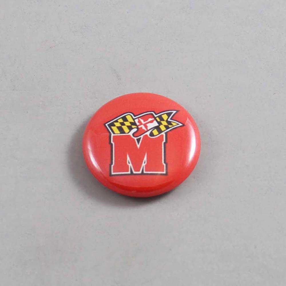 NCAA Maryland Terrapins Button 01