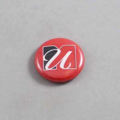 NCAA Massachusetts Minutemen Button 02