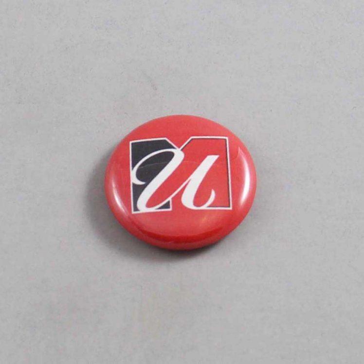 NCAA Massachusetts Minutemen Button 02