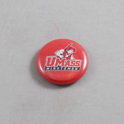 NCAA Massachusetts Minutemen Button 04