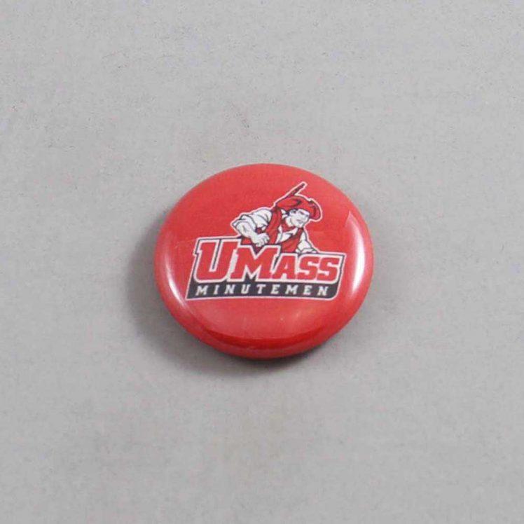 NCAA Massachusetts Minutemen Button 04