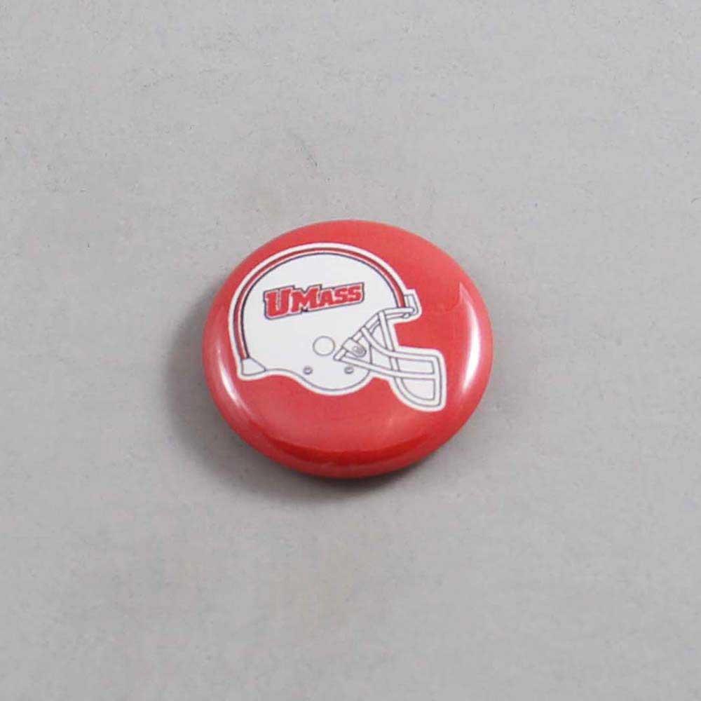 NCAA Massachusetts Minutemen Button 05