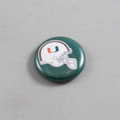 NCAA Miami Hurricanes Button 01