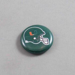 NCAA Miami Hurricanes Button 02