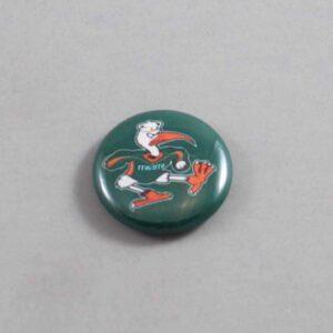 NCAA Miami Hurricanes Button 03