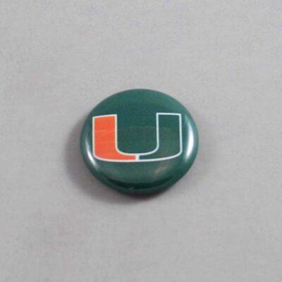 NCAA Miami Hurricanes Button 04