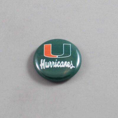 NCAA Miami Hurricanes Button 05