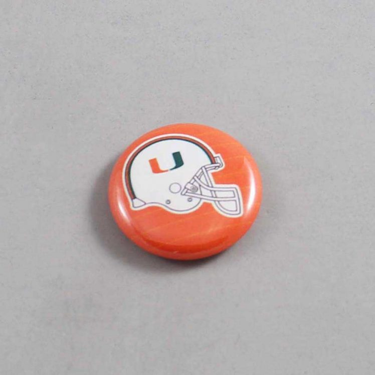 NCAA Miami Hurricanes Button 06