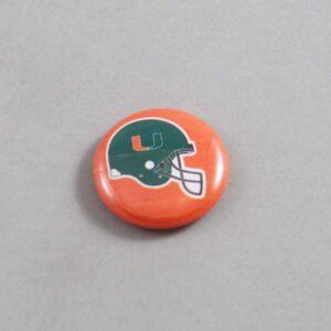 NCAA Miami Hurricanes Button 07