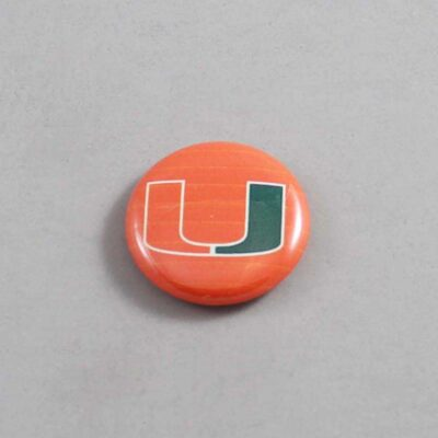 NCAA Miami Hurricanes Button 09