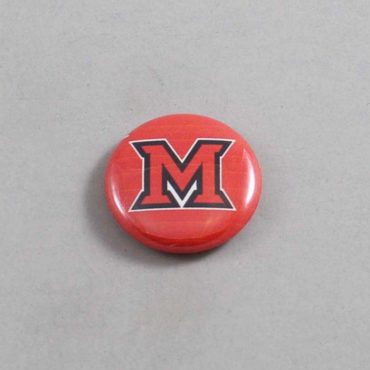NCAA Miami Redhawks Button 03