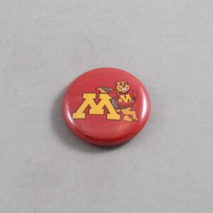 NCAA Minnesota Golden Gophers Button 01