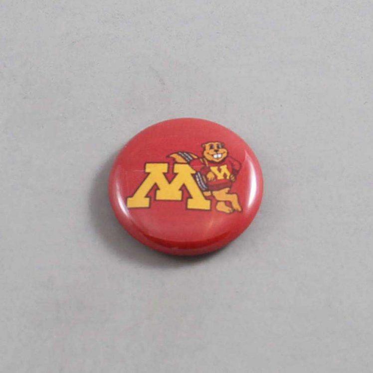 NCAA Minnesota Golden Gophers Button 01