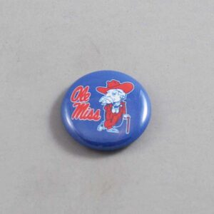 NCAA Mississippi Rebels Button 02