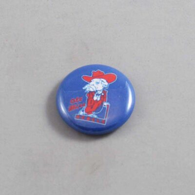 NCAA Mississippi Rebels Button 03