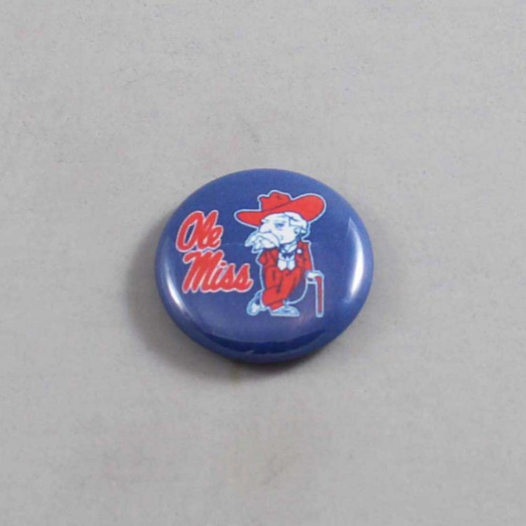 NCAA Mississippi Rebels Button 04