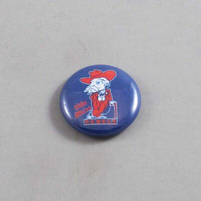 NCAA Mississippi Rebels Button 06