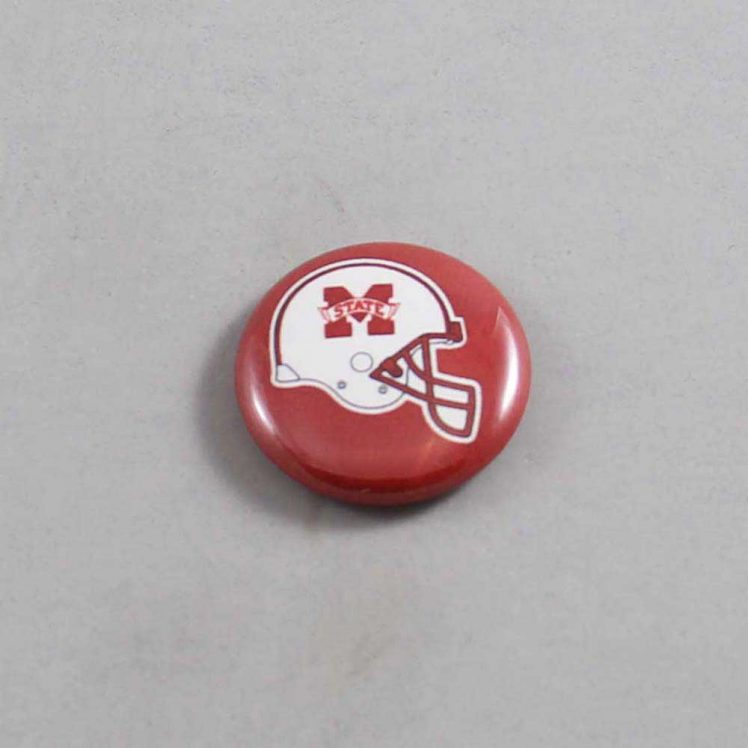 NCAA Mississippi State Bulldogs Button 02