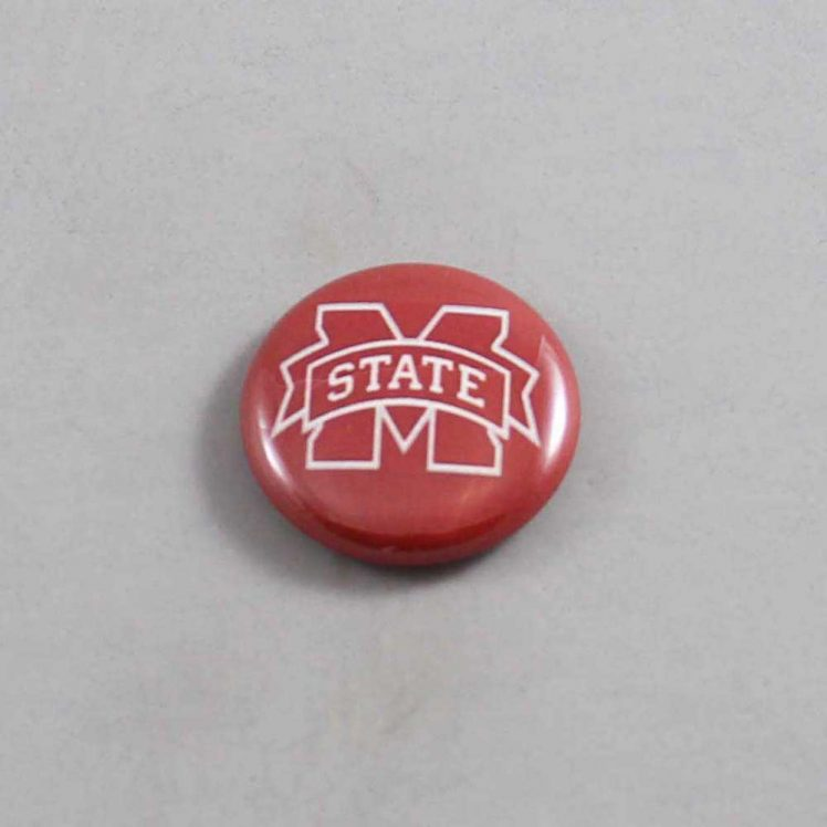 NCAA Mississippi State Bulldogs Button 04