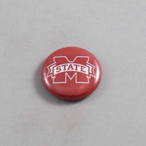 NCAA Mississippi State Bulldogs Button 06