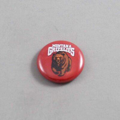 NCAA Montana Grizzlies Button 02