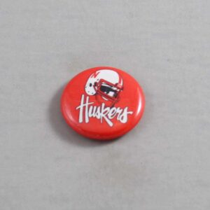 NCAA Nebraska Cornhuskers Button 02