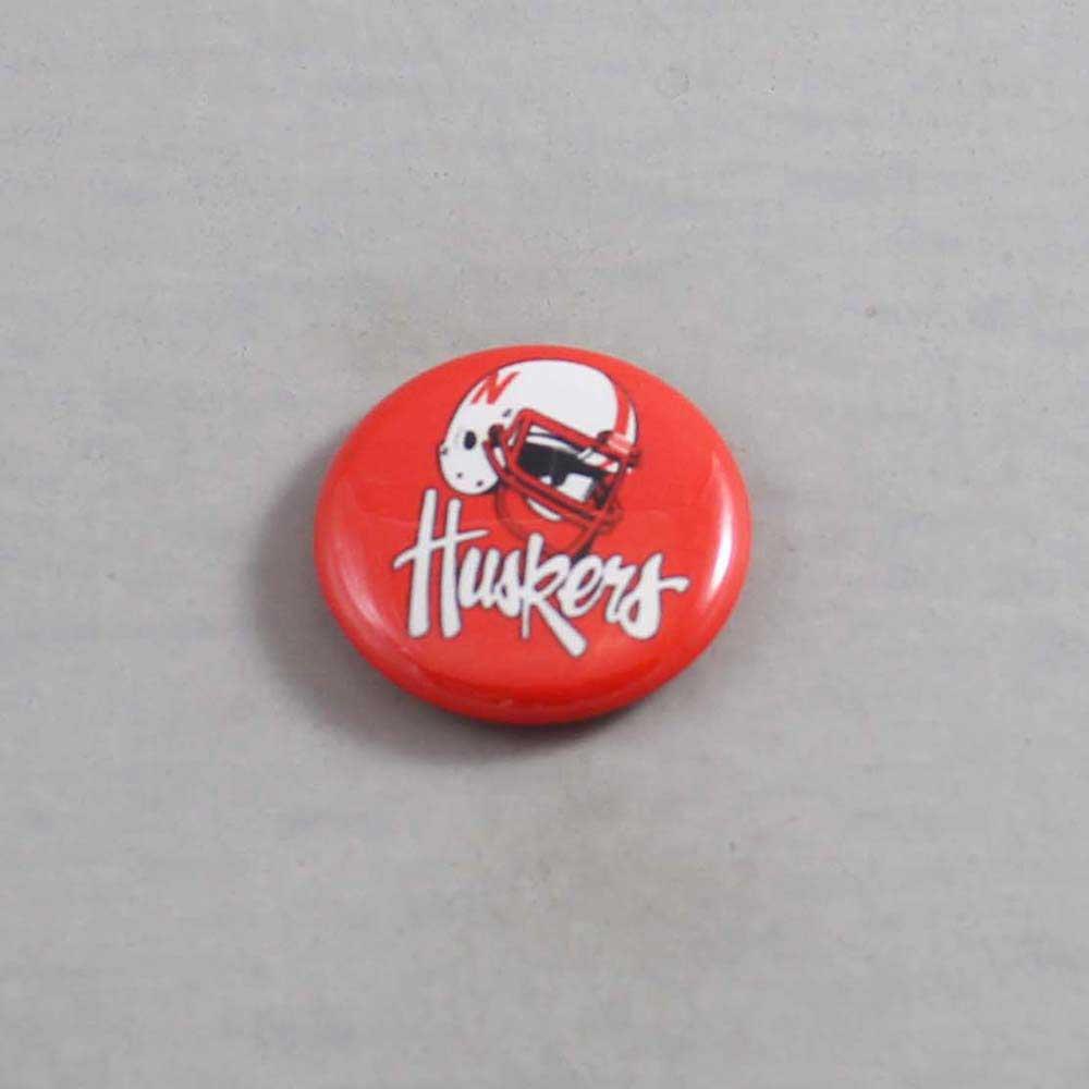 NCAA Nebraska Cornhuskers Button 02